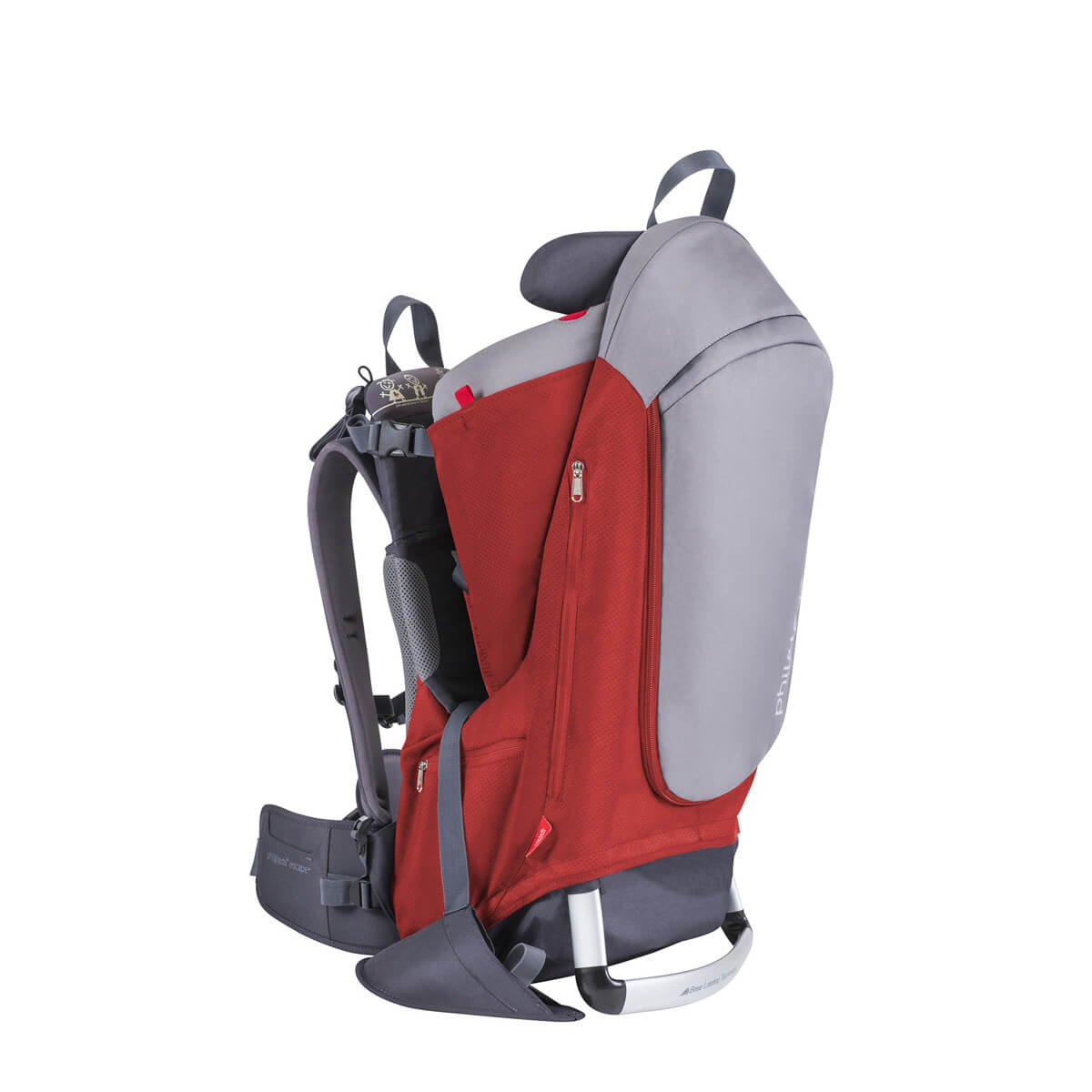 phil&teds Escape Baby Carrier, Red CE_V2_11_200_USA