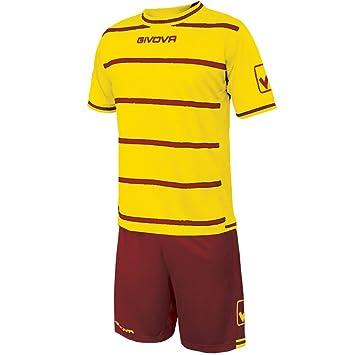 givova kitc41b, Camiseta y Pantalón Corto De Fútbol Unisex Adulto: Amazon.es: Deportes y aire libre