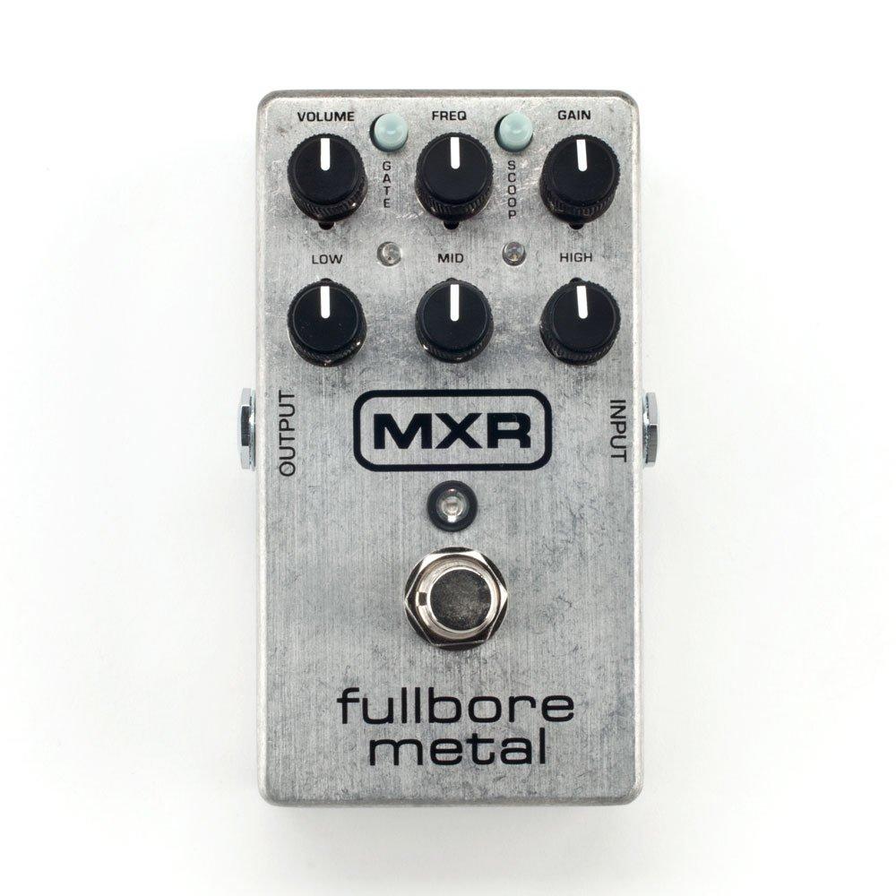 Dunlop MXR M116 Fullbore Metal Distortion Pedal, Silver - 11116000001