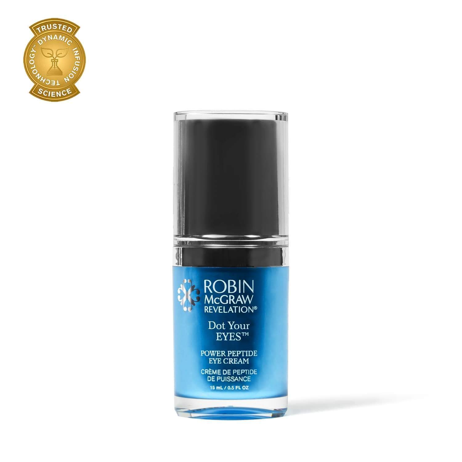 Dot Your EYES Eye Cream with Peptides by Robin McGraw Revelation | Anti-Aging Moisturizer