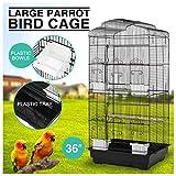 Large Bird Parrot Cage Conure Parakeet Canary LoveBird Cockatiel Finch Pet House