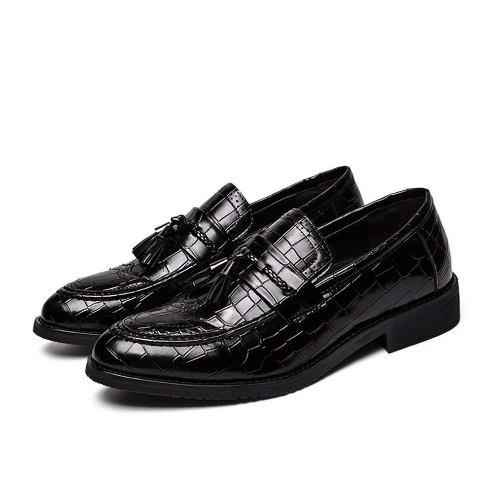 GBY Herrenmode Oxford Casual Classic Tasseled Tasseled Tasseled Crocodile Slip On Brogue Schuhe Abendschuhe  72a96a