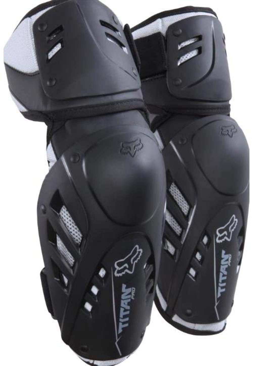 Fox Racing Titan Pro Adult Elbow Guard MotoX Motorcycle Body Armor - Black / Large/X-Large 03009