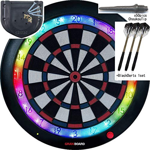 Gran Board 3 LED Bluetooth Dartboard(Blue) with Special -