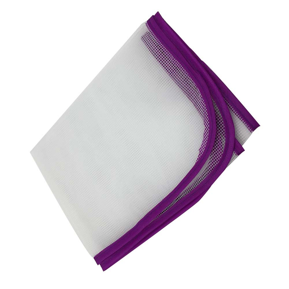 T-MEKA White Mesh Ironing Cloth Protection - 39 x 58 cm Ironing Clothes Protective Guard Mat