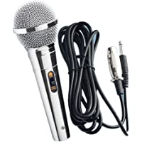 Micrófono Dinámico Profesional metal para Karaoke Cantar con Cable 4m Jack 6.3mm Micrófono Dinámico para Altavoz Karaoke Cantar Grabación