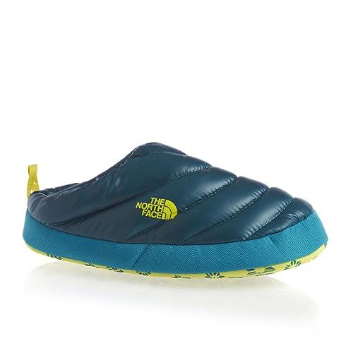 The North Face NSE Tent Mule, Zapatillas de Estar por casa con talón Abierto para Mujer, Shiny Prussian Blue, 41/42.5 EU: Amazon.es: Zapatos y complementos