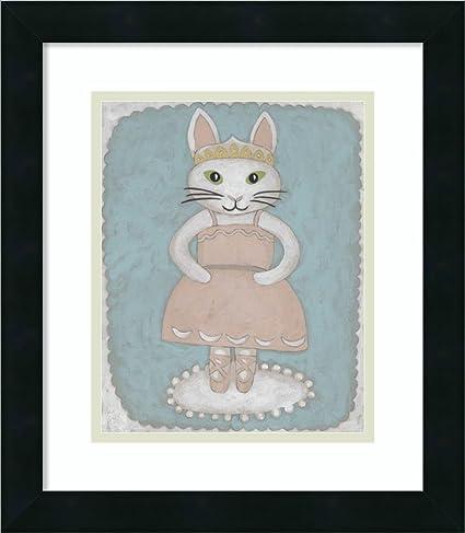 Amazon.com: Framed Art Print \'Ballerina Animal II\' by Chariklia ...