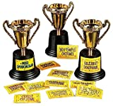 "Halloween Costume Contest Trophy (12 Pack) 5"". Plastic."