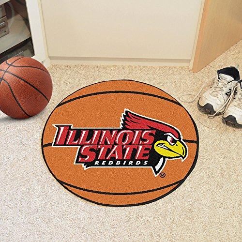 (Fanmats Sports Team Logo Illinois State University Basketball Mat)