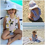 Funnycokid Baby Girls One Piece Skirt Swimsuit