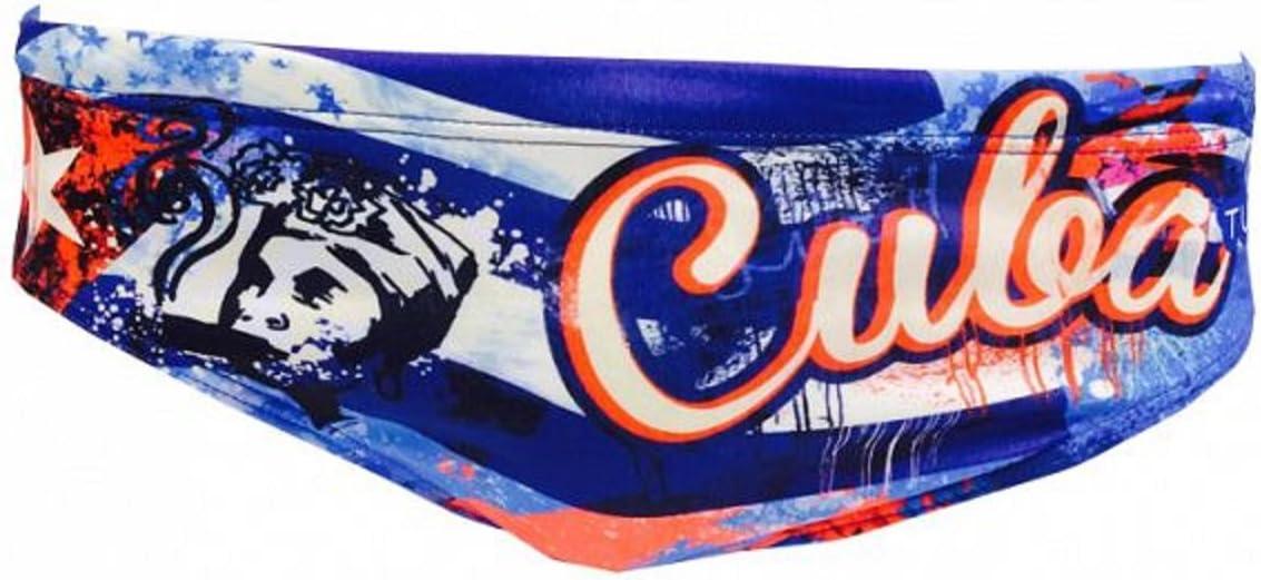 Turbo Bañador Cuba Hombre Pelotas de Agua Bañador WP, Azul/Rojo ...
