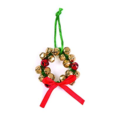 Jingle Bell Wreath Ornament Craft Kit - Crafts for Kids and Fun Home Activities: Toys & Games