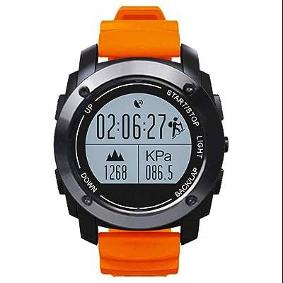 Trackers d'activité montre de sport intelligente hommes et les femmes utilisentTrackers d'activité Montre de sport intelligente avec Cardiofréquencemètres, Podomètre, Distance, Calorie, Noti