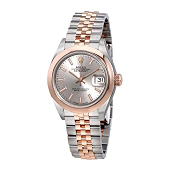 Amazon.com Rolex Lady Datejust 28 Sundust Dial Steel and