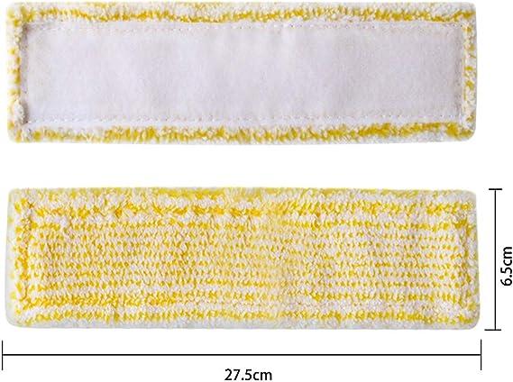 4 bonnettes pour karcher 2.633-100.0 Lot de 4 Bonnette Chiffons pour K/ärcher Nettoyeur de Vitres WV2 WV5