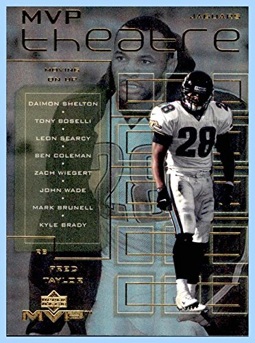 2000 Upper Deck MVP Theatre #M7 Fred Taylor