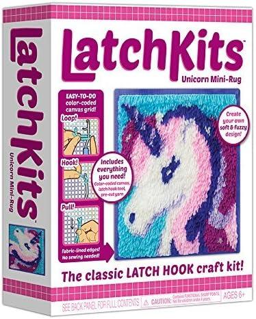 """""""Latchkids"""" latch hook craft kit."""