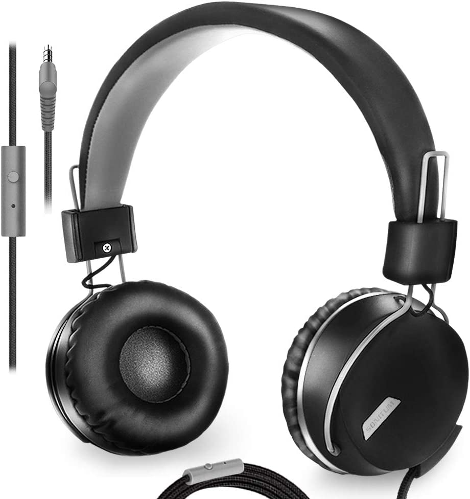 This is one of the best black colour headphones for the kids and also for  the toddlers if you your kids are going to school and used headphones for this is best for your kids