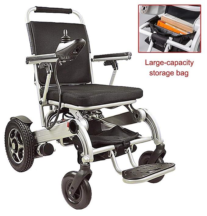 Amazon.com: ACEDA Silla de ruedas eléctrica resistente ...