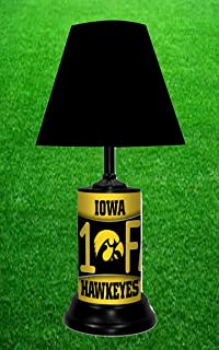Amazon ncaa iowa hawkeyes tiffany table lamp sports outdoors iowa hawkeyes ncaa lamp by tagz sports mozeypictures Images