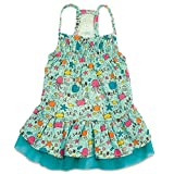 Zack & Zoey Sun and Sea UPF40 Dress for Dogs, Small/Medium, Blue
