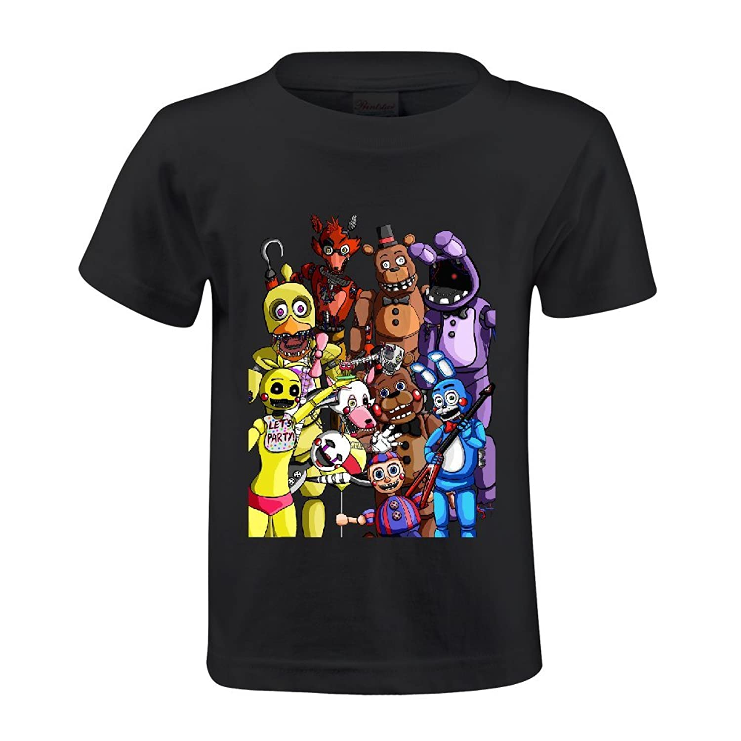 Toypop Five Nights At Freddy's Youth Cotton O-Neck Tshirts Design