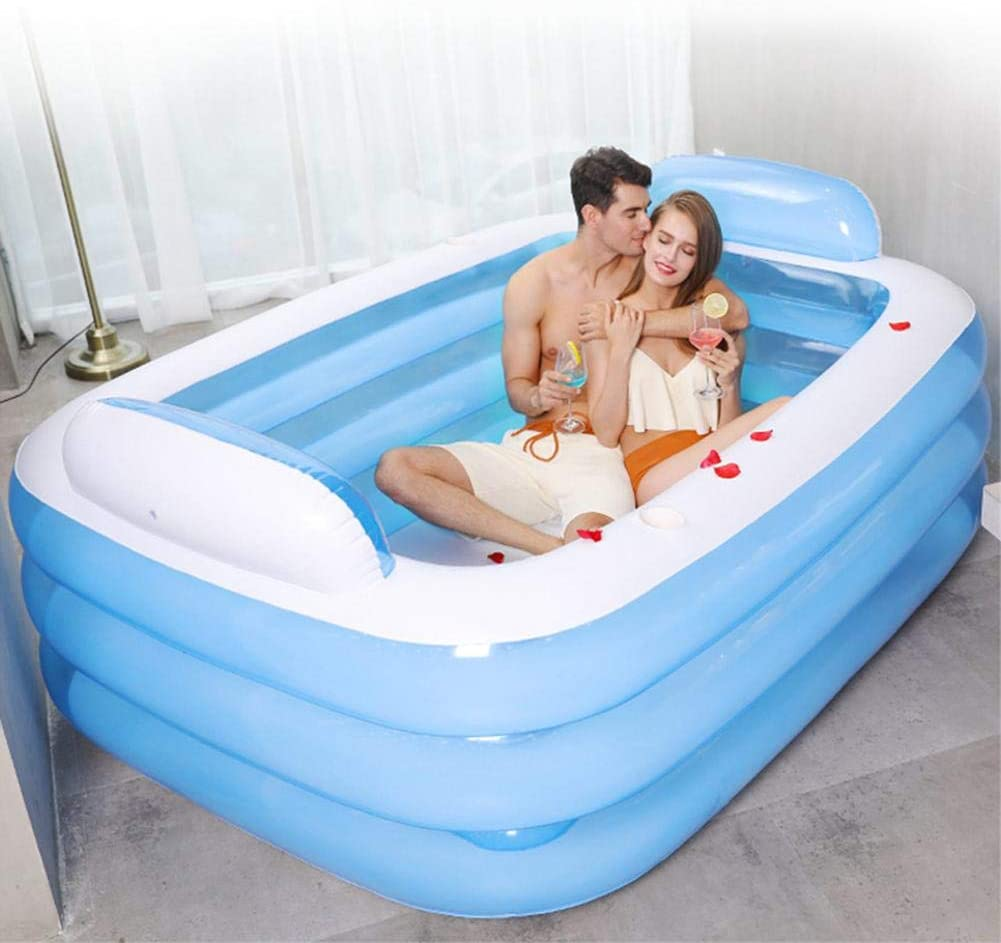 Pools for Kids and Adults,Swimming Pool Oversize Design Thickened Abrasion Resistant Family Inflatable Pool for Garden,Backyard Summer Water Party Swimming Pools