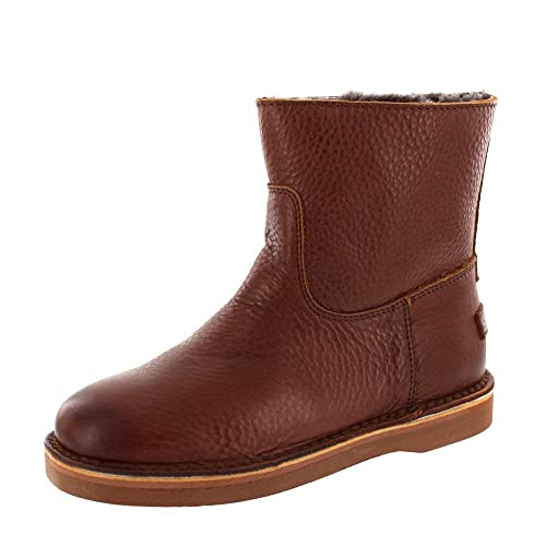 Shabbies Boot Ankle 181020024 Low Brown Amsterdam 8nPNwOX0k
