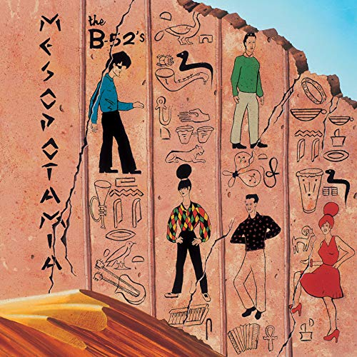 The B-52s - Mesopotamia [Opaque Light Blue] [4/13] (Vinyl/LP)