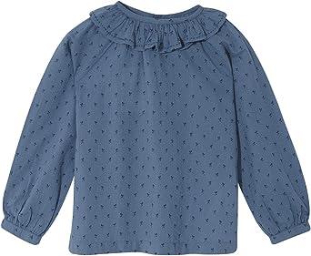 Gocco Camisa Cuello Volante Blusa para Niñas: Amazon.es: Ropa ...