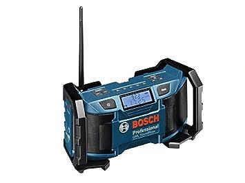 Bosch Professional 0601429900 Radio, 12 W, 12 V, Negro, Azul
