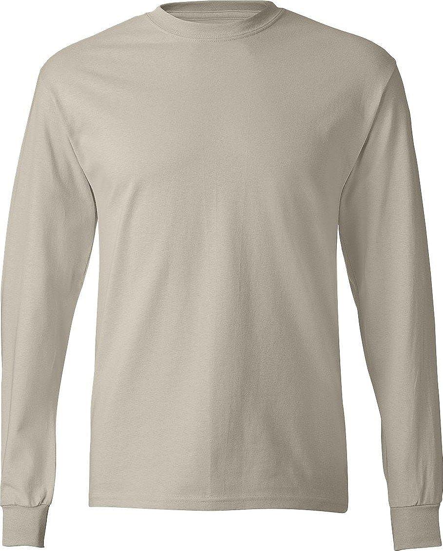 Sable S Hanes - T-Shirt à hommeches longues -  Homme