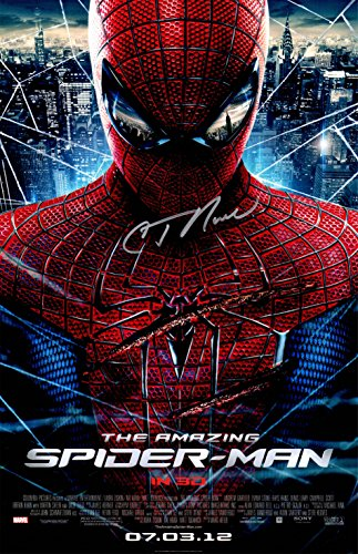 C. Thomas Howell Signed The Amazing Spiderman 11x17 Movie Poster