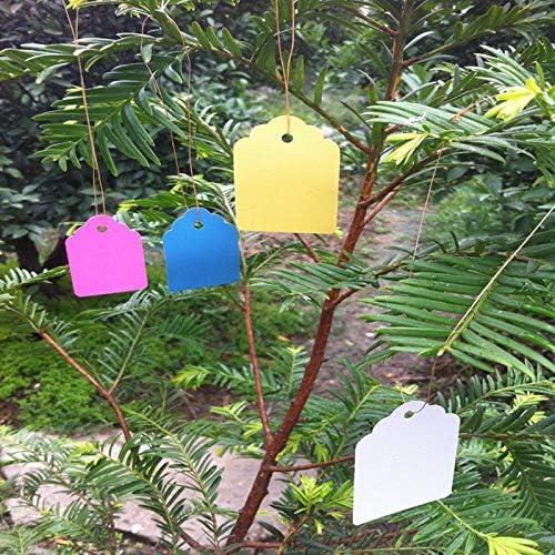 [해외]NATFUR 100pcs Plant Marker Labels Strip Line Hanging Tags Flexible Plastic Multicolor / NATFUR 100pcs Plant Marker Labels Strip Line Hanging Tags Flexible Plastic Multicolor