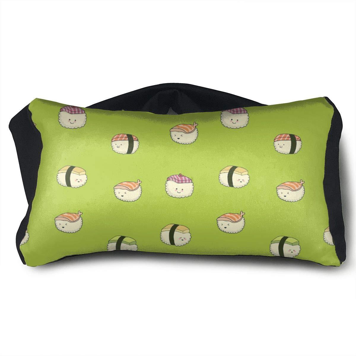 Eye Pillow Sleep Mask for Sleeping Migraine Headaches Stress Relief Sushi Pattern Eyeshade