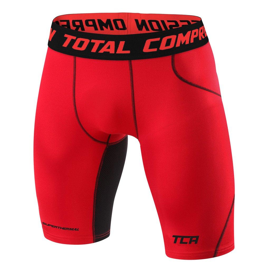メンズBoys TCA SuperThermal圧縮ベースレイヤーThermal Under Shorts B00OJDR444 XX-Large|レッド(Team Red) レッド(Team Red) XX-Large