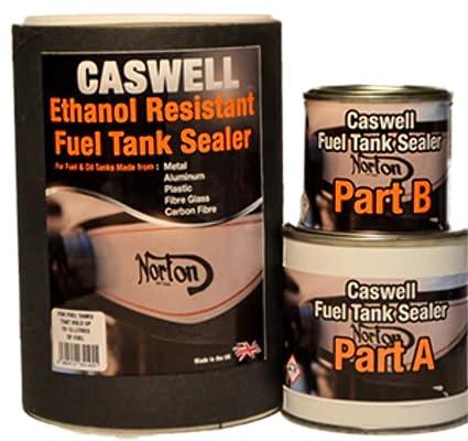 Sellador para tanque de gasolina de moto
