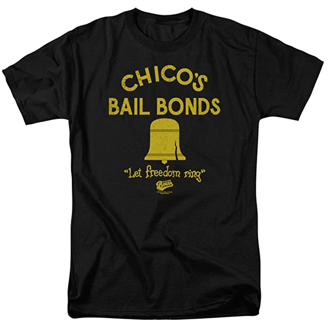 70bdf5667c7 Amazon.com: Bad News Bears - Chico's Bail Bonds Men's T-Shirt: Clothing
