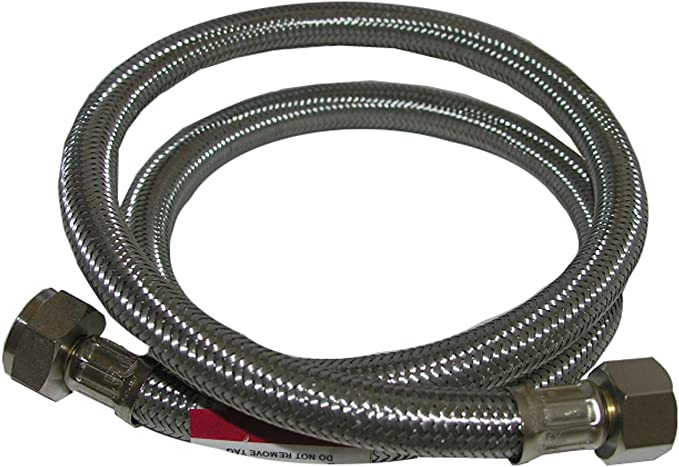 LASCO 10-2437 1//2-Inch IPS by 1//2-Inch IPS by 36-Inch Plastic Supply Flex Hose Connector