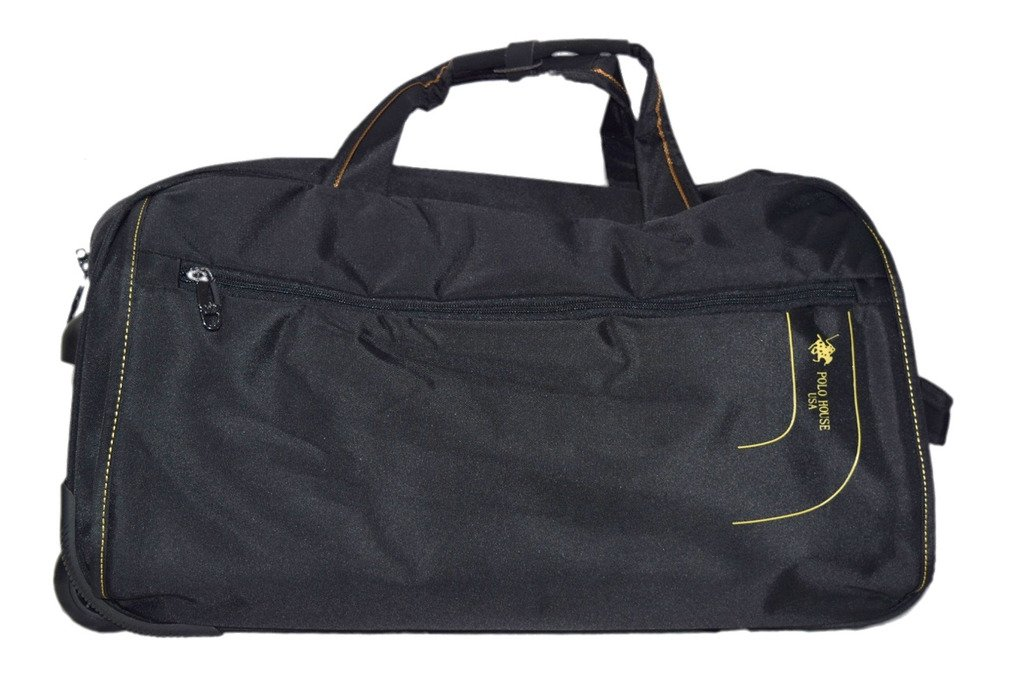 13513f15e50f Polo House USA 24 inch 2 Wheel Teflon Duffel Bag
