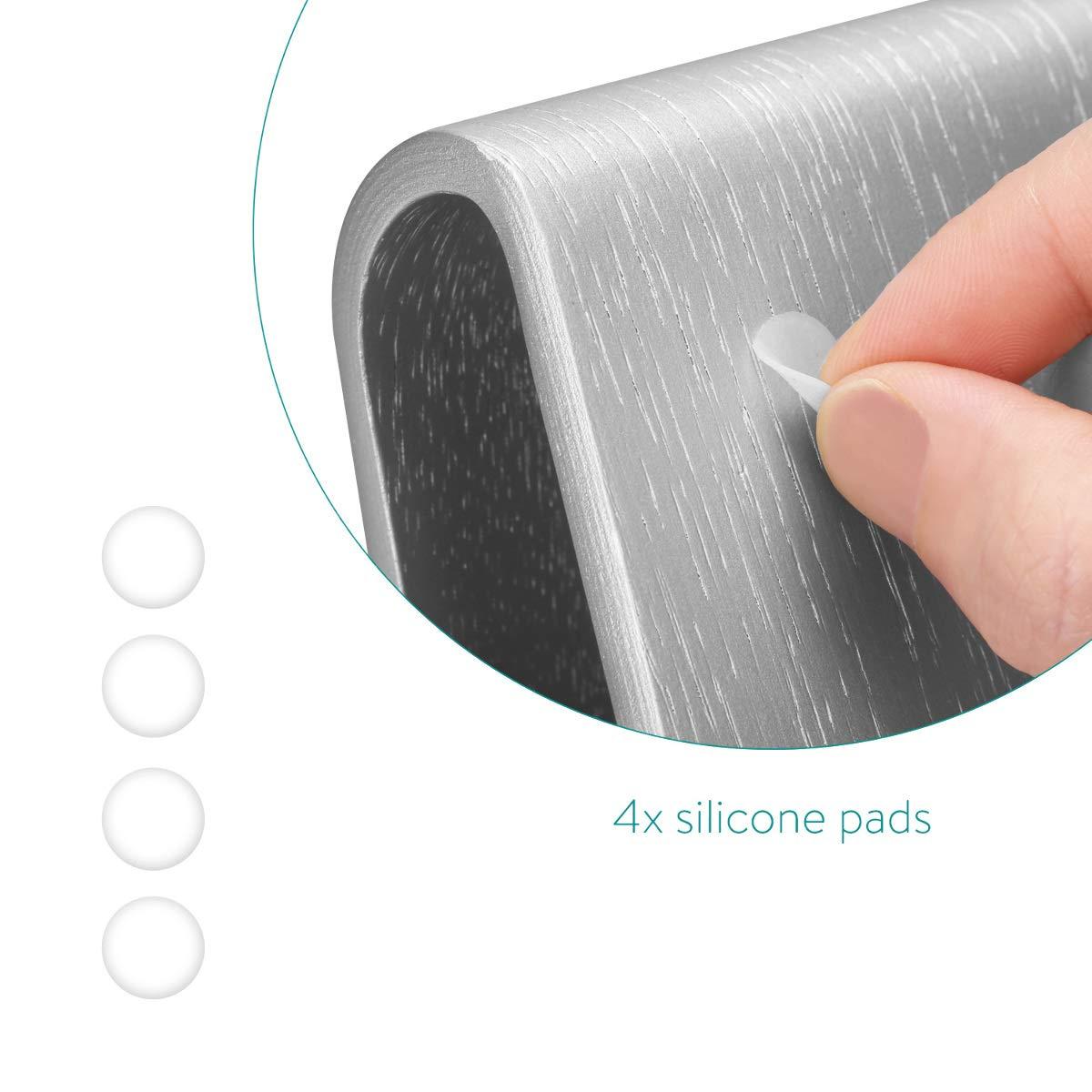 Apoyo para iPad Samsung Galaxy etc en Blanco /Soporte/Universal/para Tableta Navaris Soporte/de Madera para Tablet