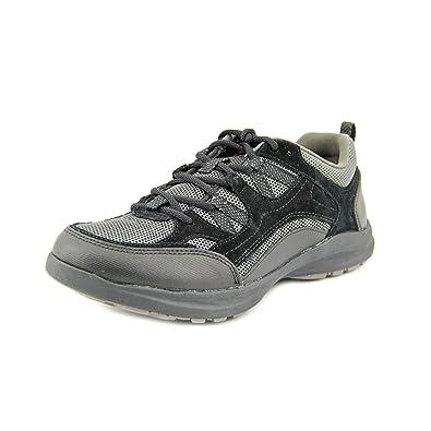 9567b4a7dad Amazon.com | CLARKS Men's Wave.Vista, Black Suede, US 7.5 M | Walking