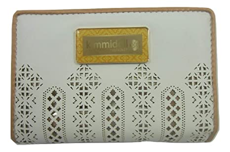Kimmidoll Collection Monedero Cartera Blanca Mujer: Amazon ...