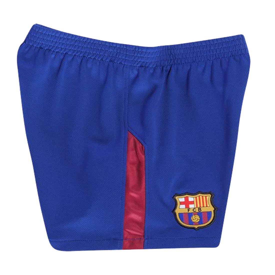 a17c78577 BARCA2018 Barcelona NB Messi Suarez Iniesta Neymar 2017 2018 17 18 Kid  Youth Replica Home Jersey ...