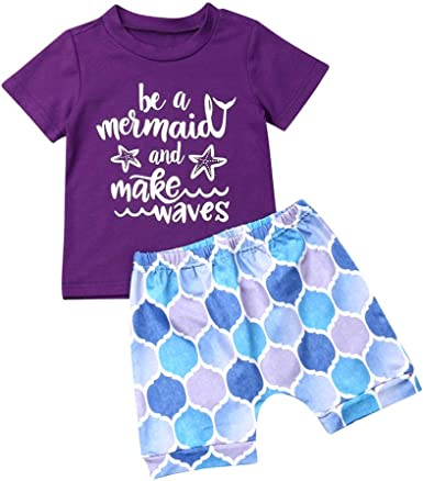 Dream Big Little Mermaid Cute Funny Girls Children/'s Kids T Shirts T-Shirt Top