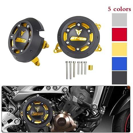 XX eCommerce Motocicleta Moto MT09 Izquierda y derecha CNC Protector del motor Estator Estator Enchufe de