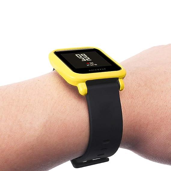 Amazon.com: Amazfit - Carcasa protectora para reloj Huami ...