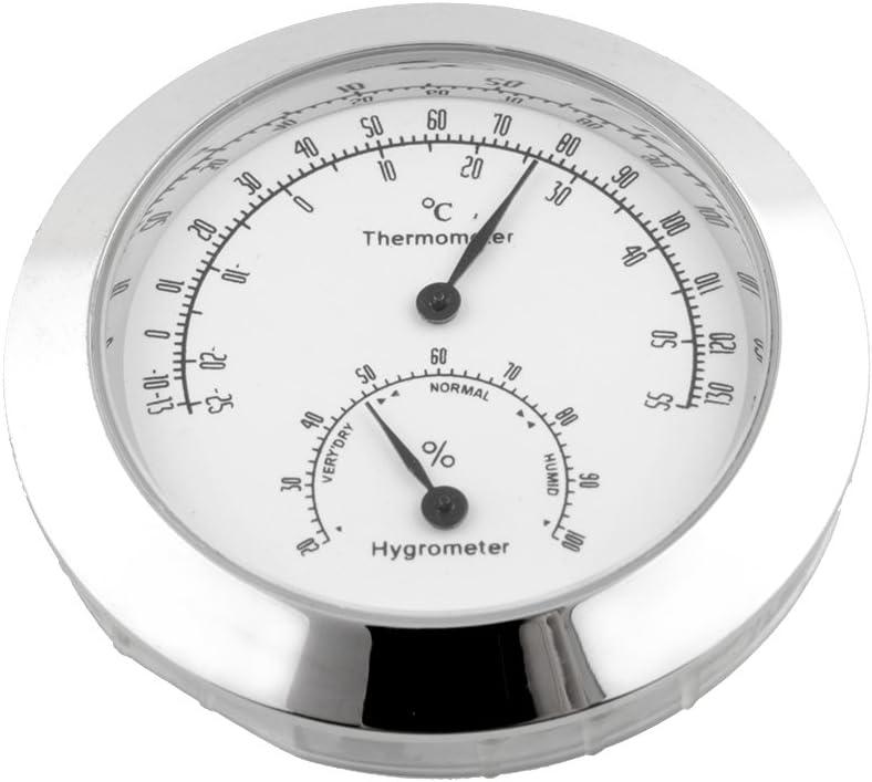 Forfar Termómetro Higrómetro Humedad guitarra Violín Metro monitor de humedad