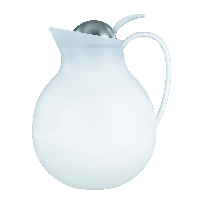 Boule Pichet Isotherme Boule Cafetière thermos Ø 16cm en noir ou blanc Markenlos